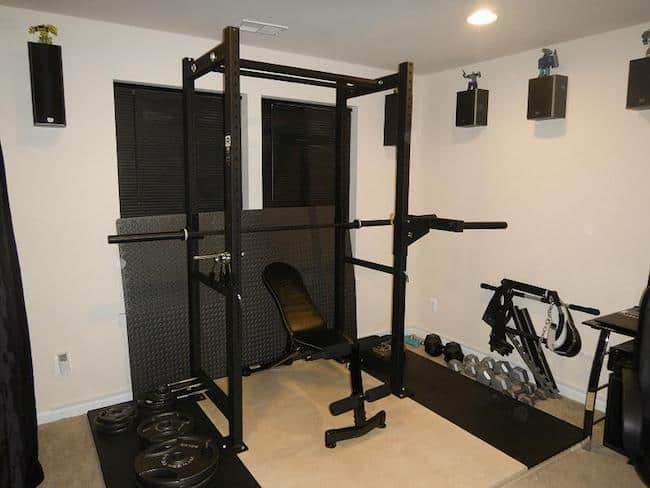 How much space you have in your home gym is another serious factor to consider when choosing the best power rack for your home gym