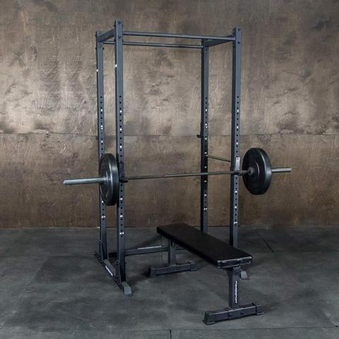 The Kip Cage from Fringe Sport is another lower cost free standing power rack