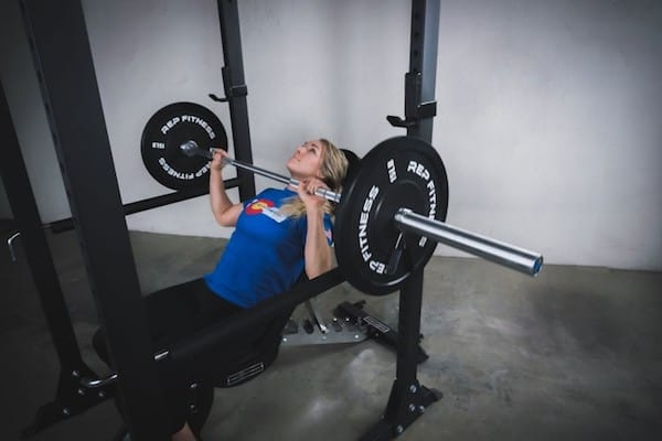 The pr-3000 power rack is a great cage to bench press in