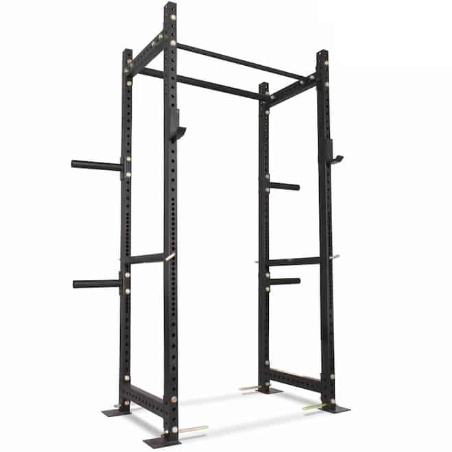 The Titan T-3 Series is a budget priced clone of the Rogue R-3 power rack