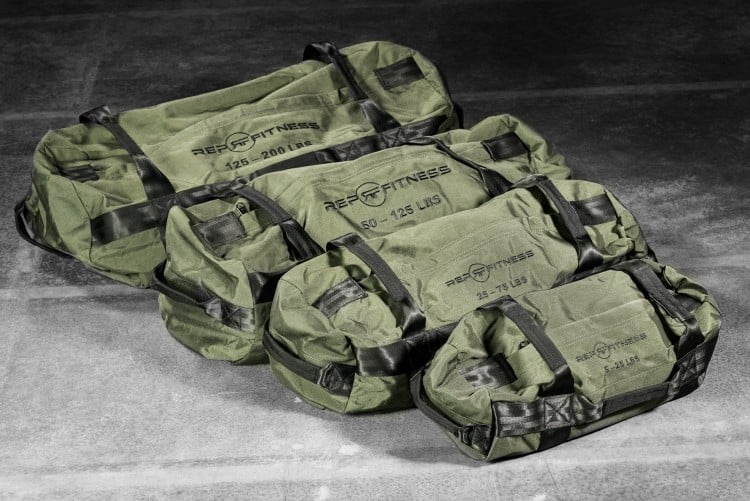 Rep Sandbags come in a range of styles and sizes that make them perfect for anyone looking to do functional home training