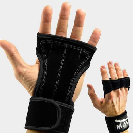 Mava sports' weightlifting gloves are exceptional value, and come in a range of funky colors