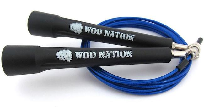 This WOD nation speed rope is perfect for CrossFitters
