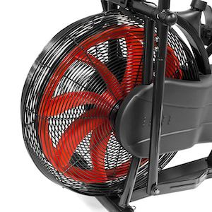 Marcy's fan bike has a smaller fan and therefore lower resistance