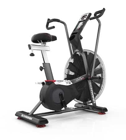 Schwinn's airdyne pro air bike is the best offering from this renowned maker of exercise bikes