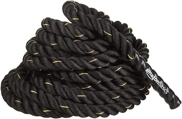The AmazonBasics battle rope is cheap and reliable, a great choice for those on a budget