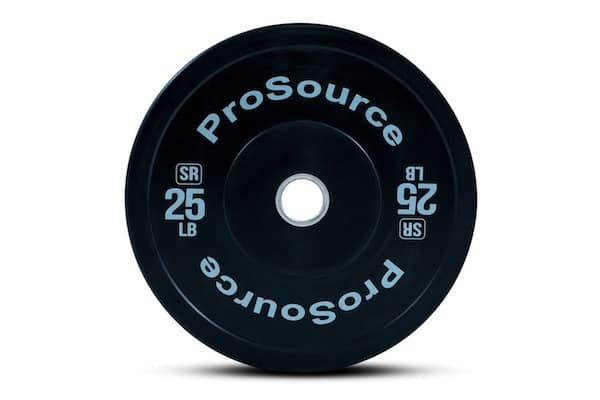 These ProSource SR bumper plates look amazing and are great quality
