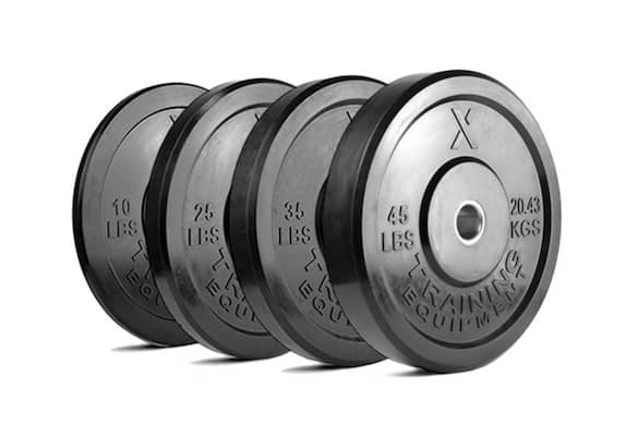 These x-training bumper plates are premium quality at a reasonable price