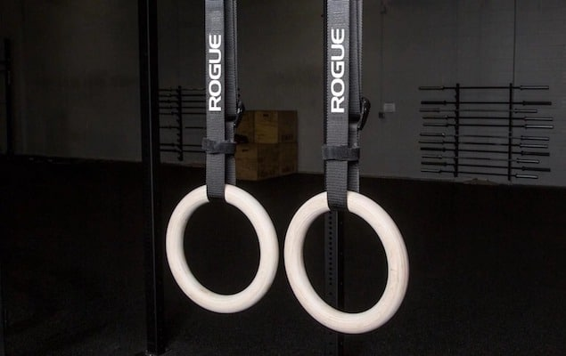 Rogue's gymnastics wood rings are as close to the real deal as you'l get