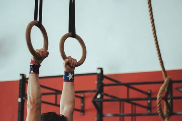 A good pair of wood gymnastics rings feel great in the hands
