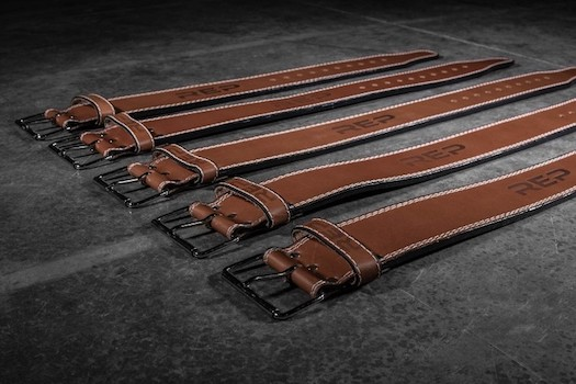 Rep's premium leather lifting belt is made for real lifters