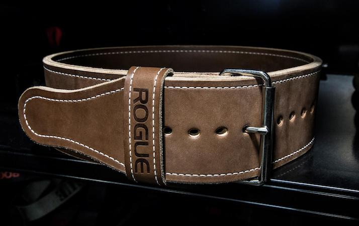 The rogue Ohio Lifting Belt is a truly beautiful powerlifting belt