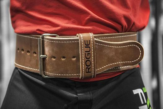 The Rogue Ohio Powerlifting Belt is durable and breaks in very quickly