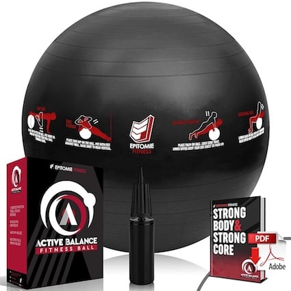 The Epitome stability ball is next level awesome