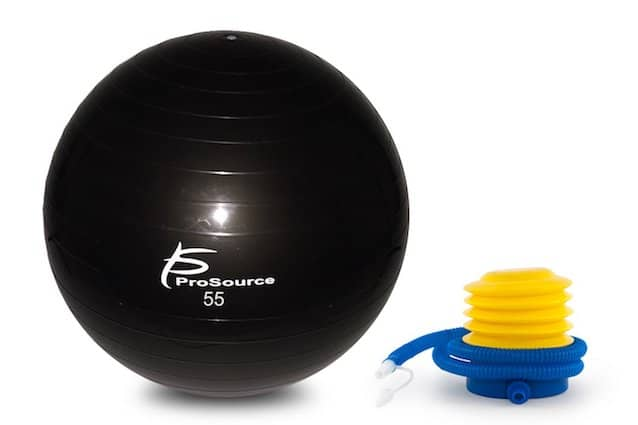 ProSource's stability ball is great quality and well-priced