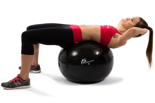ProSource's stability balls are great for core work