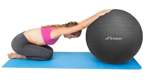 whether its Yoga poses or posture correction you're after, Trideer's stability ball is worth considering