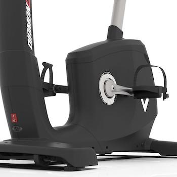 Pedal cage of the Diamondback Fitness 1260ub upright exercise bike
