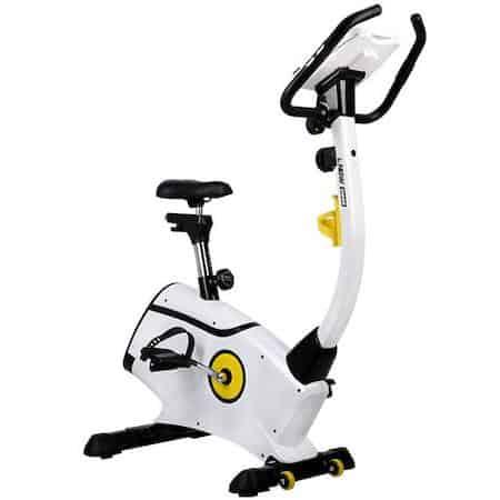 White L Now upright exercise bike