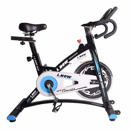 L Now's premium exercise bike offering is sleek and modern and very affordable