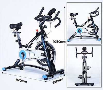 Strong and compact makes this exercise bike from l now an excellent option