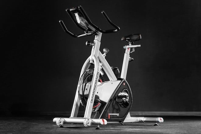 The 510lc from Rep Fitness is their high-end exercise bike offering