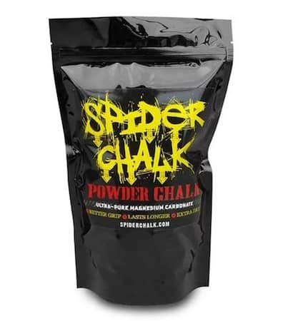 Spider chalk's powdered chalk in a bag is super effective even though it's a bit pricey