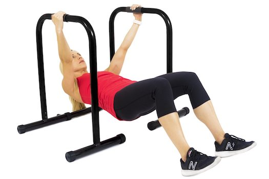The range of exercises you can do on these dip bars from ProSource is great