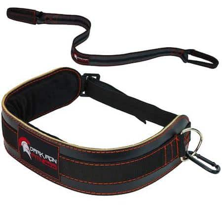 The Leather Dark Iron dip belt is great quality and very comfortable
