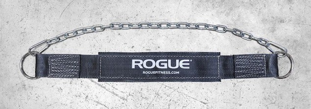 The Rogue Fitness Dip Belt is the best in the business