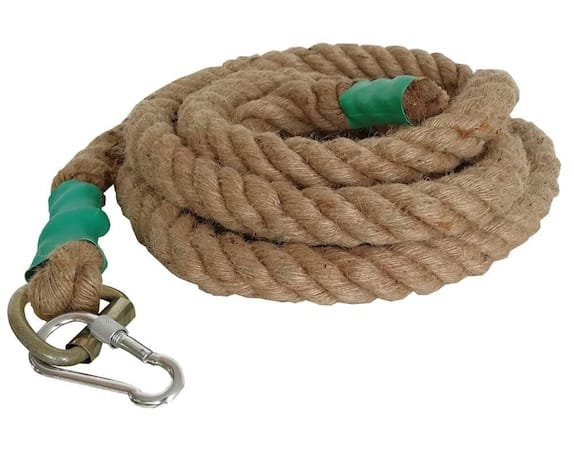 This climbing rope from Aoneky is simple, cheap and effective