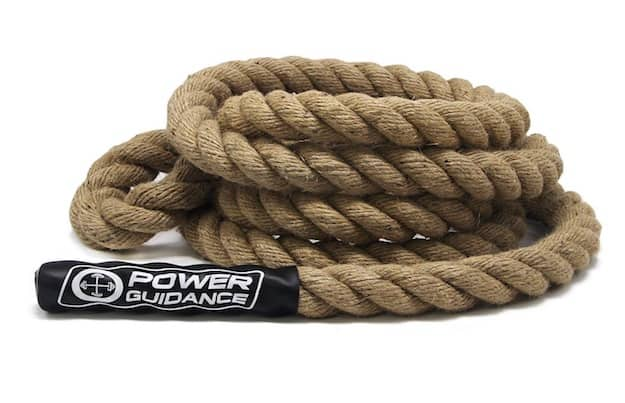 Power Guidance's climbing rope is simple and effective