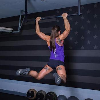 A good pull up bar makes this core exercise comfortable and effective