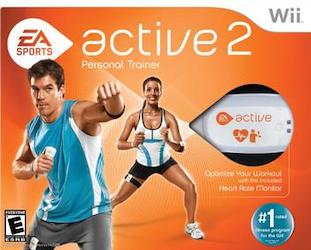 Cover art for EA Sports Active 2 exercise video game for Wii