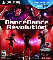 Video game cover for Dance Dance Revolution on PS3