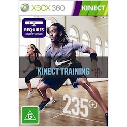 Cover art for the fitness video game Nike+ Kinect Training on Xbox