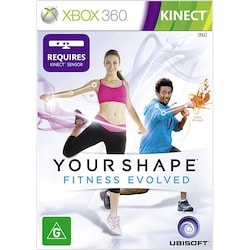 Cover art for your shape fitness evolved exercise game on xbox 360