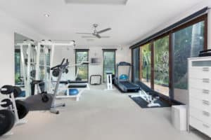 Room full of the best home gym equipment