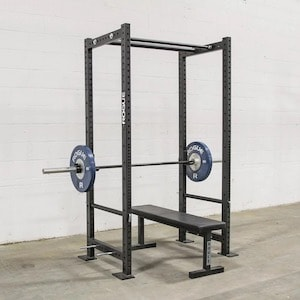 The Rogue R3 power rack is the best power rack currently available because it's top quality and has a huge number of variations