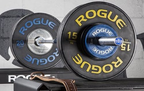 Rogues Olympic WL Bar is the best weightlifting abrbell you can get that is not a professional bar.