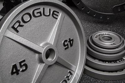 Rogue's machined olympic plates are the best weight plates on the market. They look great and are extremely precise