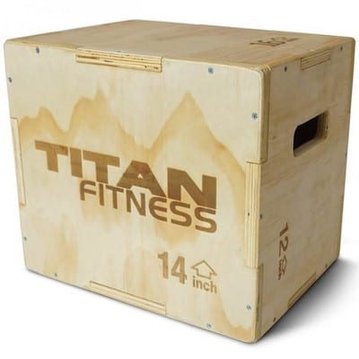 Titan Fitness's 3-in-1 plyo boxes are mores versatile and cheaper alternatives to the Fringe