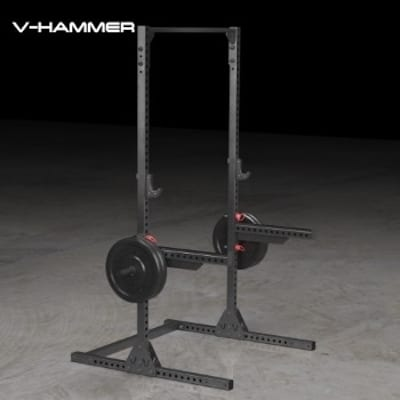The Vulcan V-Hammer Squat Stand II is a very beasty piece of equipment
