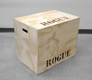 Rogue's games box is the best multi-sided box is the best plyo box you can pick up