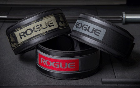 Rogue's USA nylon lifting belts are a great  cheaper alternative to leather belts