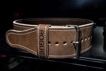 Rogue's ohio lifting belt is a quality piece of leather