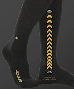 Graduated compression is a must in good compression clothing