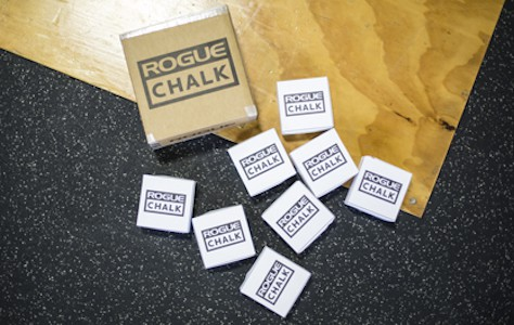 Rogue's gym chalk is as good as any other brand's