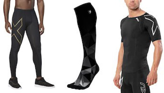 There are many different types of compression clothing