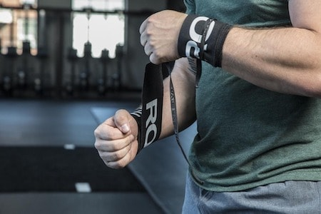Wrist wraps can limit development of the stabilizing muscles